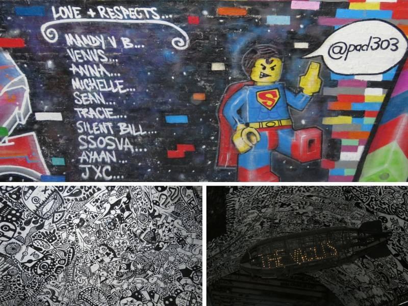 Tunnel bei Waterloo Station