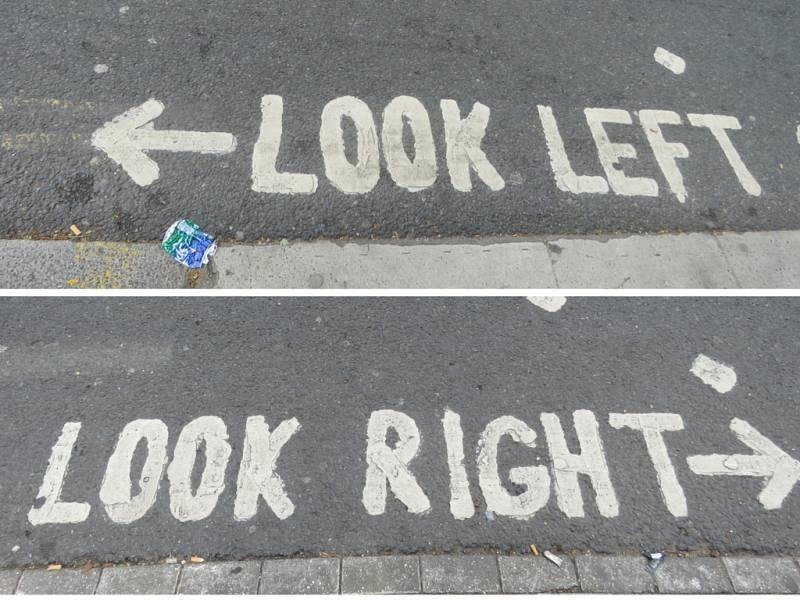 Linksverkehr in London