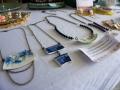 Halsketten aus Keramik