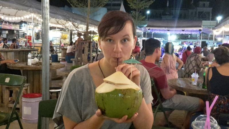 Meine erste Kokosnuss