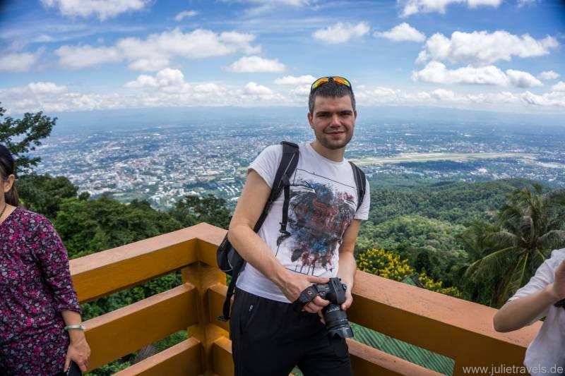 Aussicht über Chiang Mai
