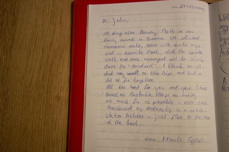 Eintrag von Moritz :)