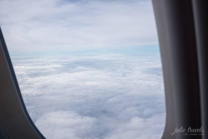 Ein Wolkenmeer über Australien
