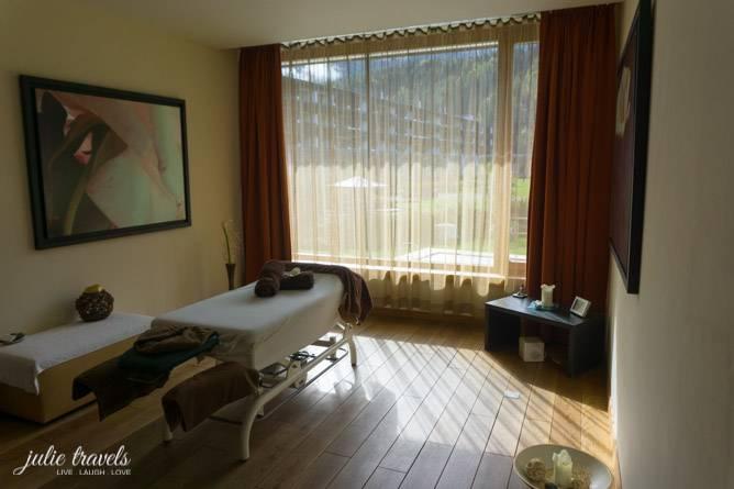 Hotel Carinzia Massage Raum
