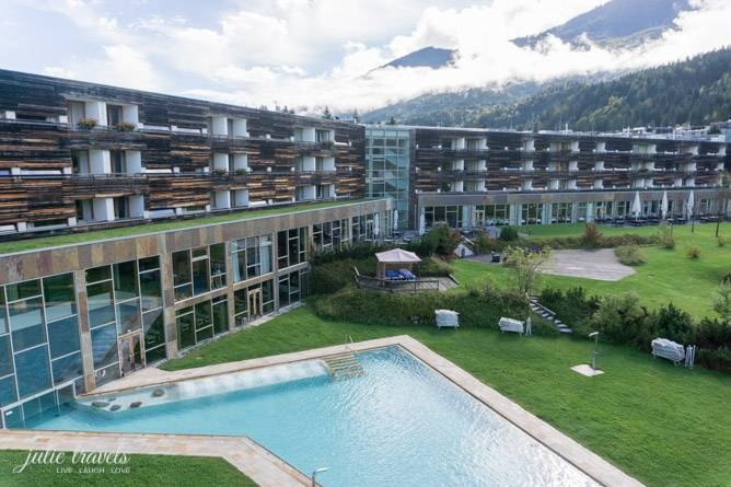 Hotel Carinzia mit Pool