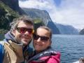 Wir im Milford Sound