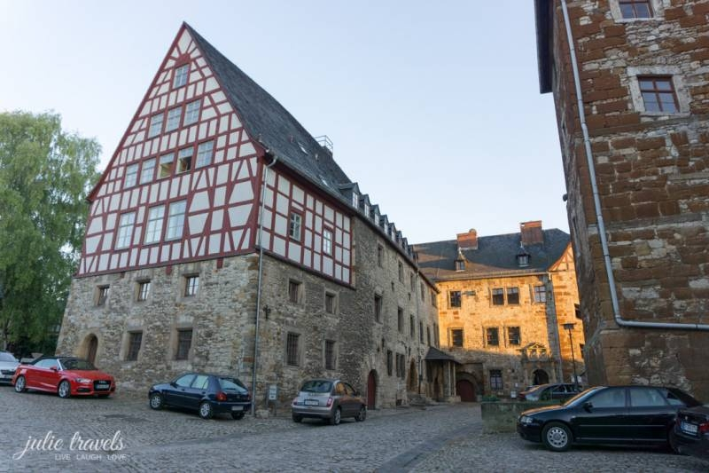 Schloss Beichlingen Innenhof