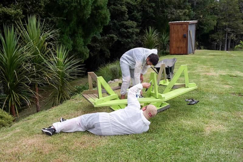 Wwoofing in Neuseeland