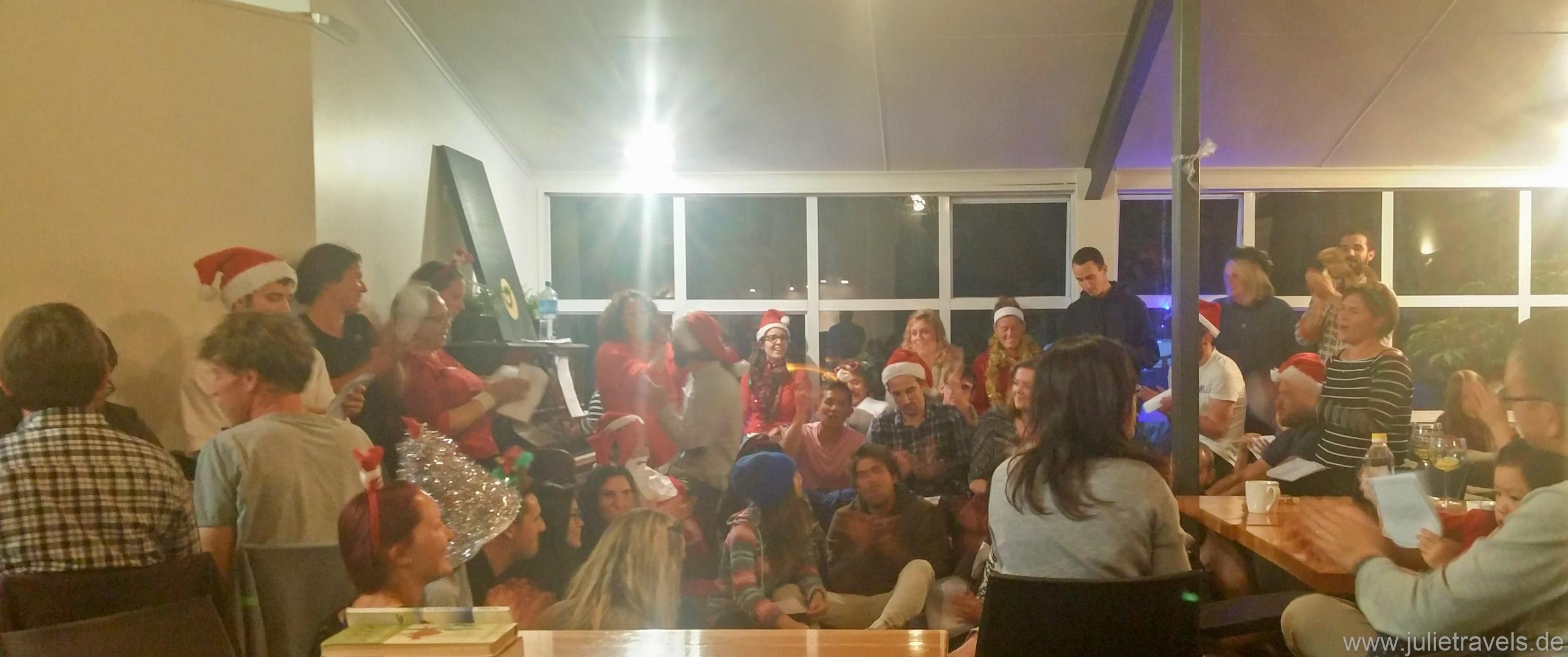 Milford Sound Lodge Weihnachtschor