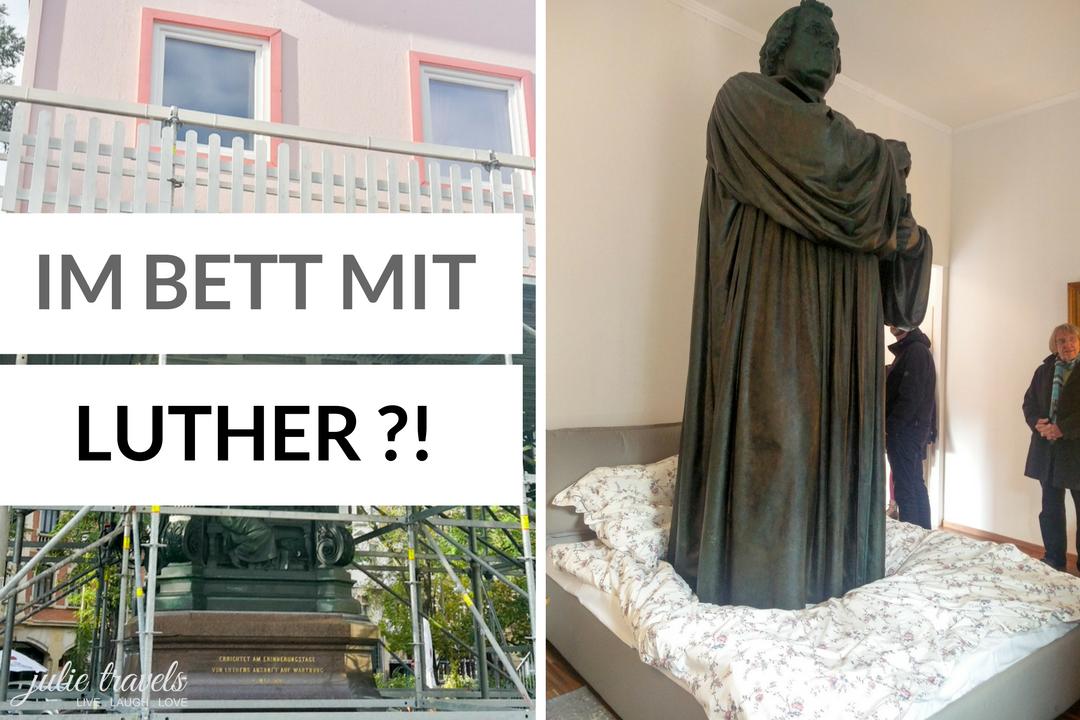 Im Bett mit Luther in Eisenach