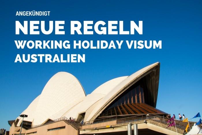 Working Holiay Visum Australien