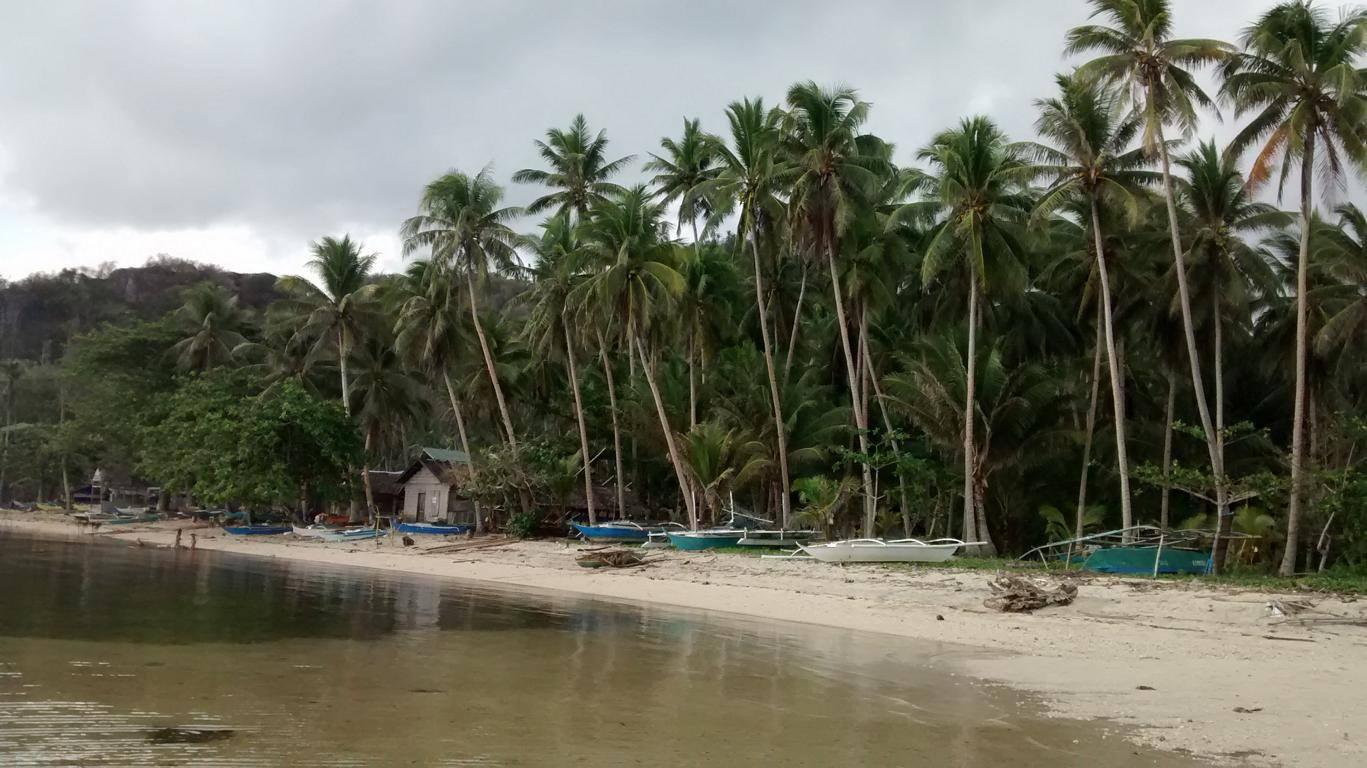 Ein Strand auf den Philippinen