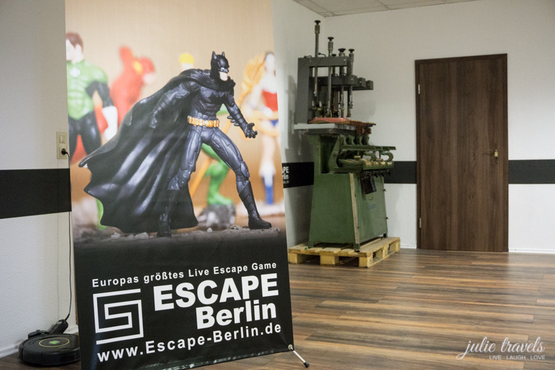 Escape Berlin - Big Bang Raum