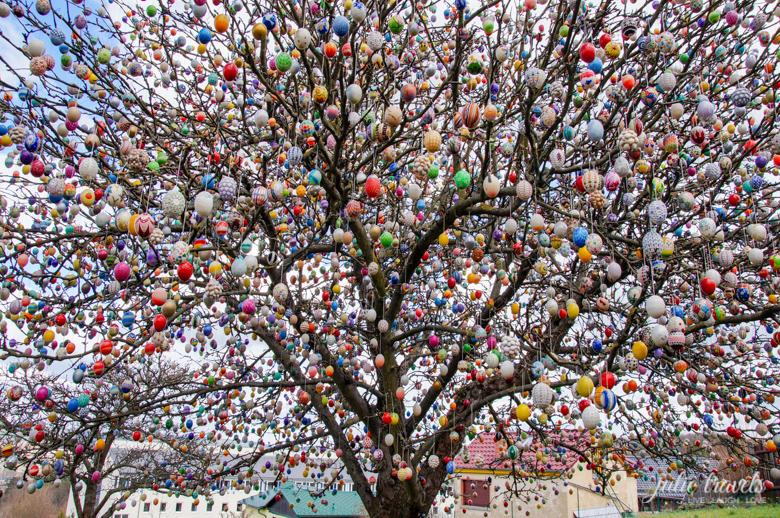 Der Ostereierbaum in Saalfeld