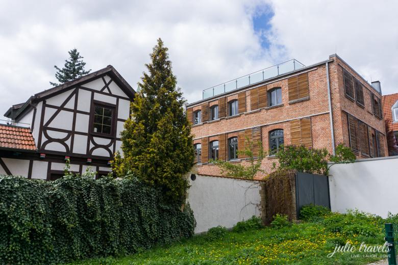 Häuser im Andreasviertel