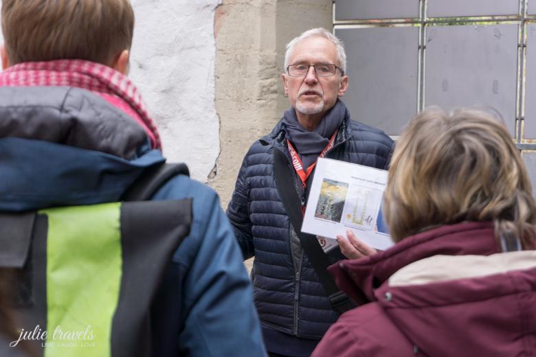 Roland Schmidt erzählt vom Waid