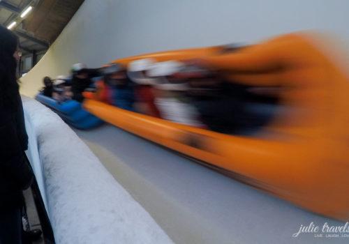 Gästebob Oberhof - Ice Rafting im Schlauchboot