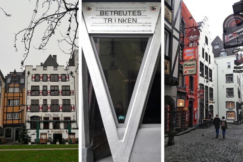 Verschiedene Ansichten der Kölner Altstadt