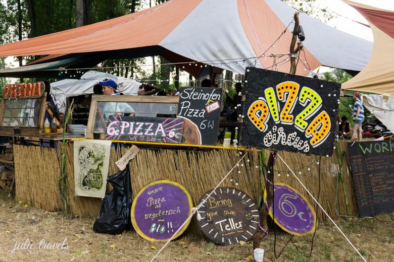 Pizza Circus zum Auerworld Festival