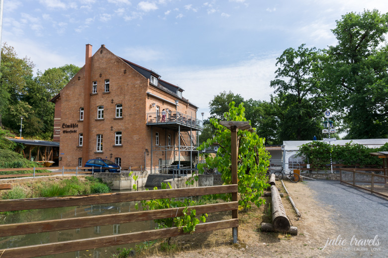 Die historische Mühle in Eberstedt mit Restaurant und Hotel