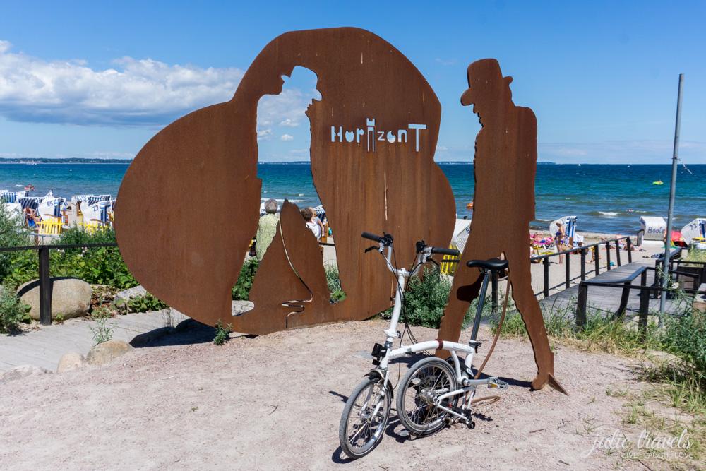 Kunstwerk aus Metall für Udo Lindenberg am Timmendorfer Strand