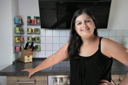 Doris von Doricicas in ihrer Küche