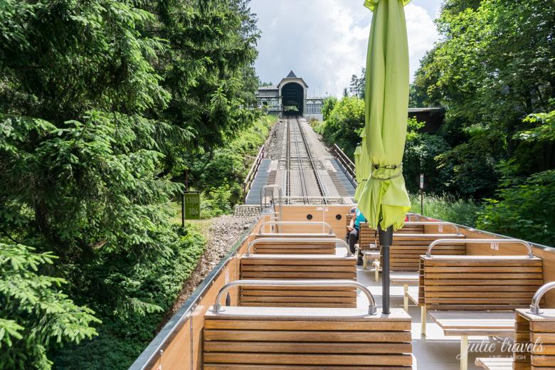 Capriowagen der Oberweißbacher Bergbahn