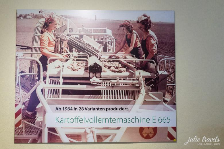 Bild von einer Kartoffelvollerntemaschine